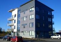 Anisen: Leverans av TK-Gruppens PVC-fönster till BRF Anisen i Örebro tillsammans med NCC. Totalt ca 900 fönster med grafitgrå utsida för att på ett stilrent sätt matcha husens arkitektur.