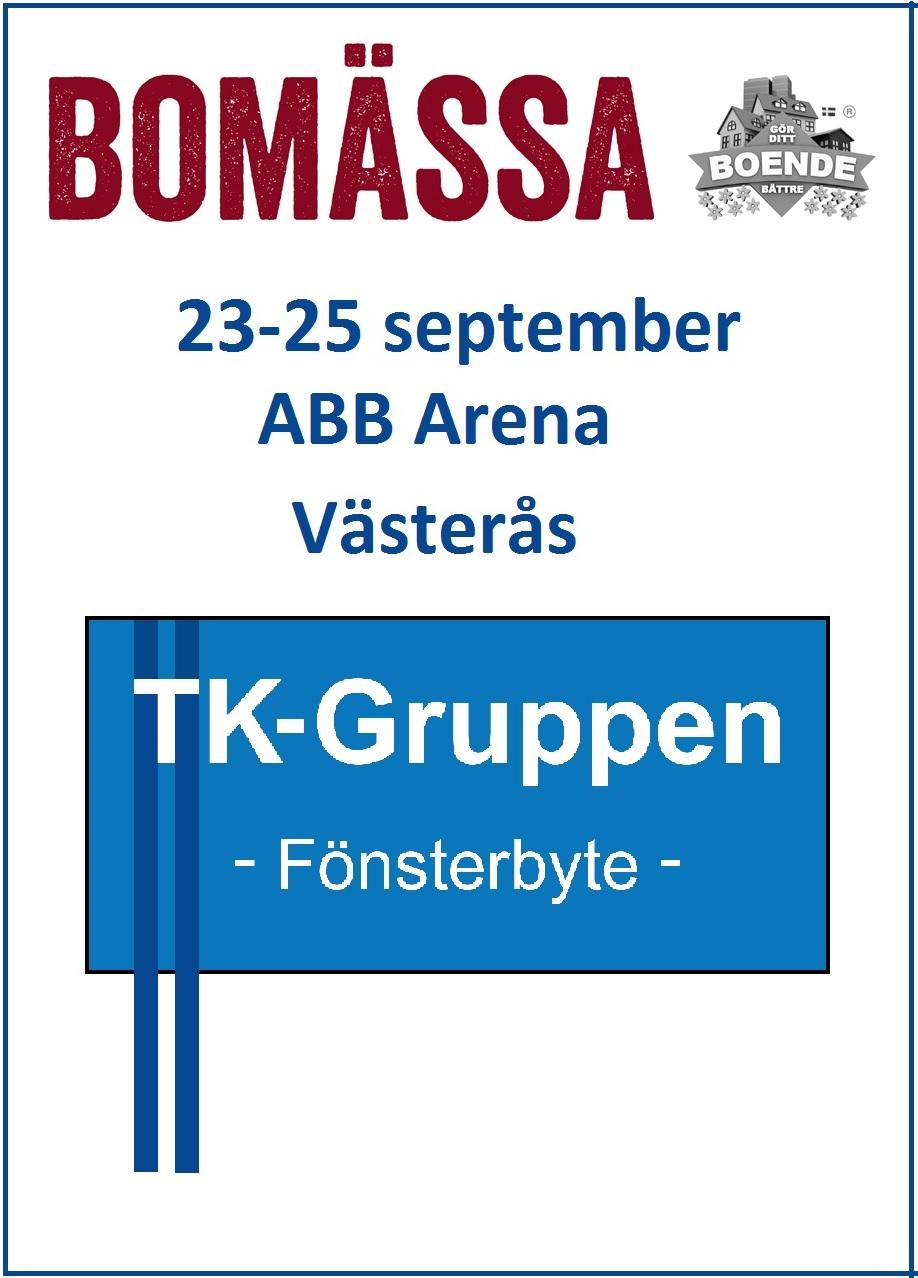 Besök oss på Bomässan i Västerås, 23-25 sept! PVC-fönster Västerås